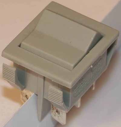 wippschalter umschalter 10 amp 250v 2 polig wippschalter ger teschalter schalter. Black Bedroom Furniture Sets. Home Design Ideas