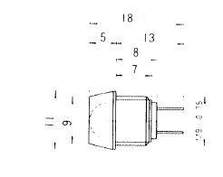 leuchtdiode rot 2v 20 ma signalleuchten mit led bis 5mm einbautaster signalleuchten. Black Bedroom Furniture Sets. Home Design Ideas