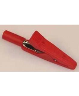 Abgreifklemme Rot, ø2mm