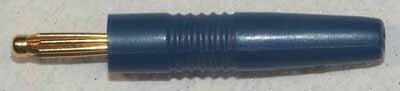 Stecker Grün, ø2mm