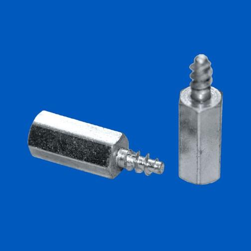 Abstandsbolzen M3x17, Stahl, mit Schneidgewinde
