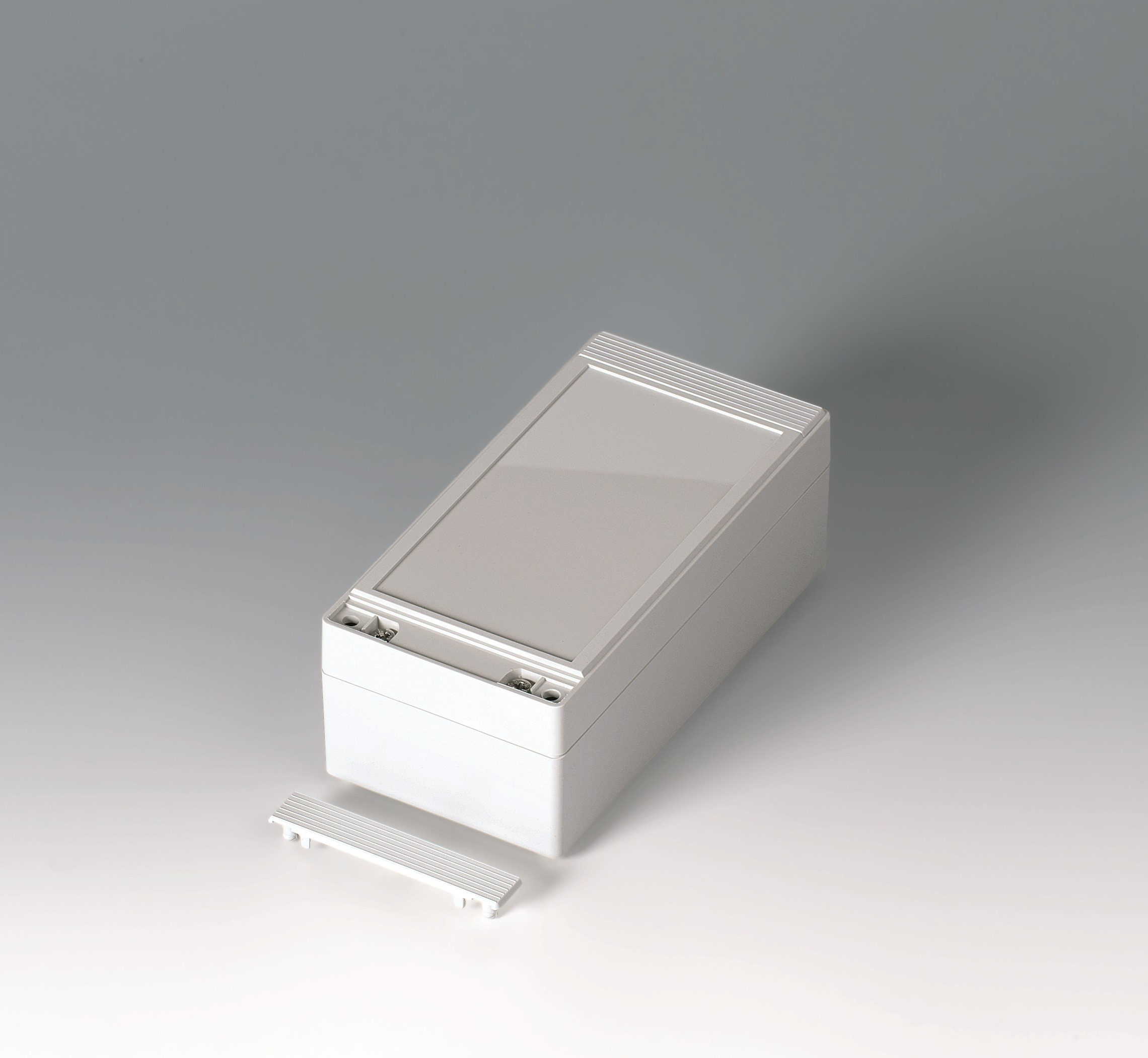 geh useschalen robust box 80 breit 160 x 80 x 60 lichtgrau wandgeh use okw. Black Bedroom Furniture Sets. Home Design Ideas
