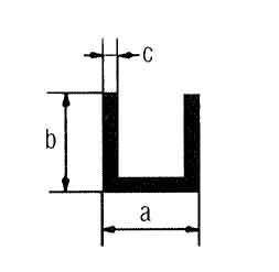 Messingprofile L: 1m, 15 x 15 x 2 mm