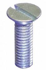 Schraube M4 x 8mm, Stahl vernickelt