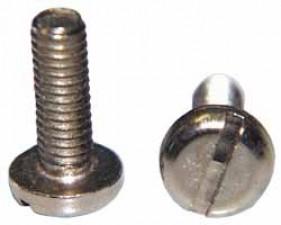 Schraube M4 x 12mm, Stahl vernickelt