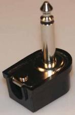 Klinkenstecker, L=43mm, schwarz