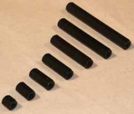 Abstandsbolzen M6x20, Polyamid, SW10