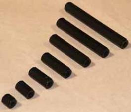 Abstandsbolzen M6x25, Polyamid, SW10