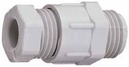 Kabelverschraubung, für Kabel ø3 - 7mm, Polystyrol, Pg9