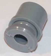 Zugentlastung grau ohne Knickschutztülle für Kabel ø4.8 - ø6.8