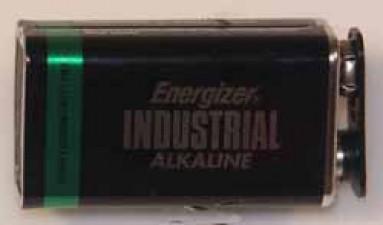 Alkali-Batterie 9v, E-Block