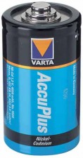 "Nickel-Kadmium Batterien ""Varta"" 26 x 49 mm"