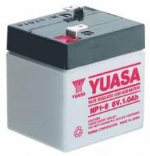 Wartungsfrei Bleibatterie 6v 1.2Ah, 97 x 25 x 57.5 mm