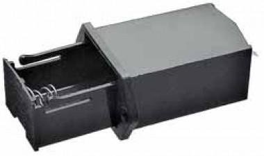 Batteriehalter für 1x9-V-Batterien, 24 x 34 x 56 mm