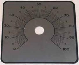 Schilder 0-100, 270°
