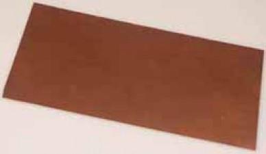 Kupfer-Epoxydplatten, 110 x 125 mm, Dicke:  1.6 mm