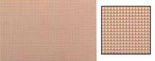 Experimentierplatten / Laborkarte, 100 mm x 160 mm, Phenolhartpapier