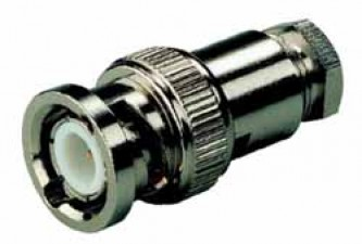 Koaxialstecker BNC, für Kabel ø5.3mm