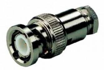 KOAX-Kabelstecker, für Kabel ø6.4mm