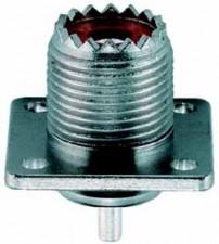KOAX, UHF-Chassisbuchse mit Flansch