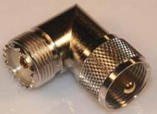KOAX, UHF, Winkel-Verbinder MIL M-359