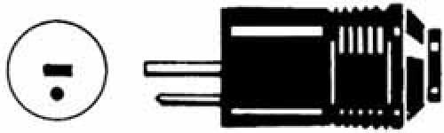 Lautsprecherstecker mit Lötanschluss, grau