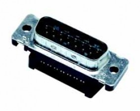 D-SUB-Flachkabel-Steckverbinder, Stecker, 15 polig