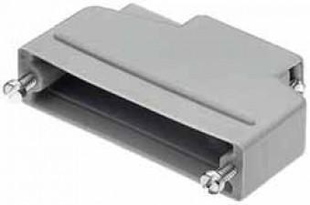 Haube für D-Steckverbinder, 15 Kontakte