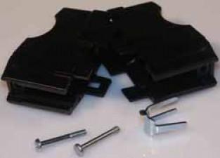 D-Sub-Hauben für Schraubverriegelung, für 9-poliger Stecker