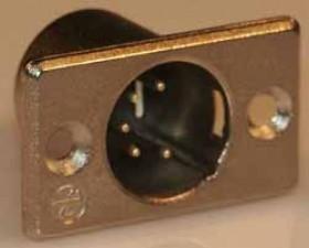 Xlr-Chassisstecker 5