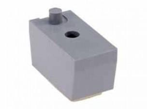 Kunststoff Gerätefuss, ABS grau