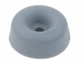 Gerätefuss zum Anschrauben, ø15 x 6.5 mm, Grau
