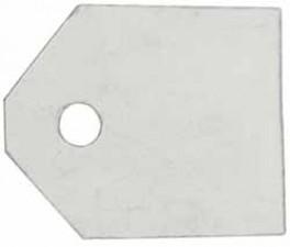 Glimmerscheiben 17.5 x 15 mm