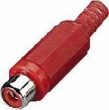 Cinch-Kupplungen rot