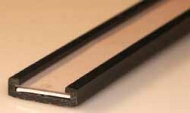 Kunststoff - Bezeichnungsstreifen Länge 1m, Breite 15 mm