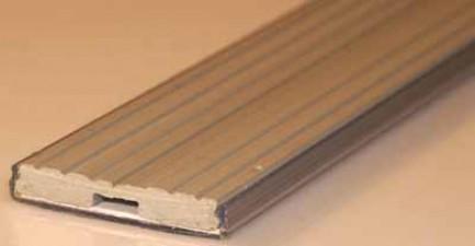 Kunststoff - Bezeichnungsstreifen Länge 1m, Breite 30 mm