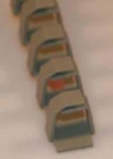 Kabelkanal, selbstklebend L 500 x B 13 x H 15 mm