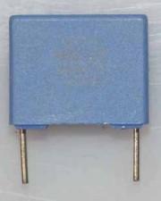 Wickel- und Folienkondensatoren, 100V, Polycarbonat,  0,15µf