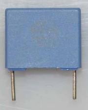 Wickel- und Folienkondensatoren, 100V, Polycarbonat,  0,22µf