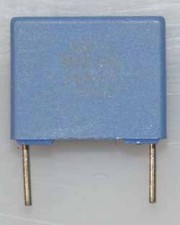Wickel- und Folienkondensatoren, 250V, Polycarbonat,  0,33µf
