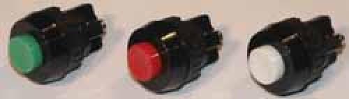 Drucktaster Rot, 1-polig.