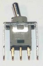 Ultraminiatur - Kippschalter, Umschalter 2-polig, wasserdicht