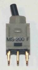 Ultraminiatur - Kippschalter, Umschalter, 2-polig, wasserdicht