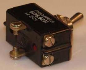 Kippschalter, 10A / 250V AC, Umschalter