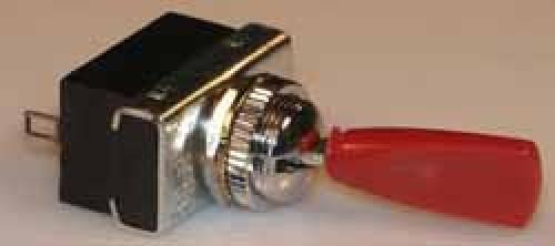 Kippschalter - Umschalter, 6A AMP / 250 V /  rot.