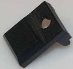 Knopf Schwarz, B 12.3mm