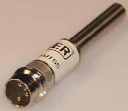 Induktiver Näherungsschalter, PNP, Stecker, ø4mm