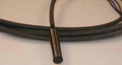 Induktiver Näherungsschalter, NPN, Kabel, bündig, ø6.5mm