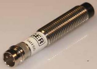 Induktiver Näherungsschalter, PNP, Stecker, bündig, Ø6.5mm