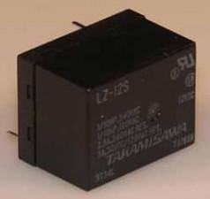 Miniaturrelais für Starkstrom, Dual  in Line Relais, 12 V DC, 440 Ohm
